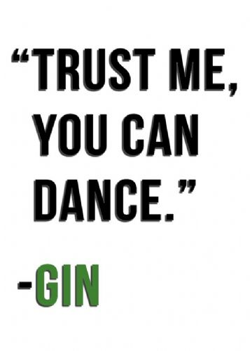 ART - TRUST ME GIN - GREEN canvas print - self adhesive poster - photo print